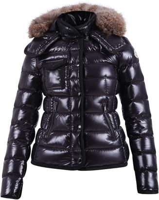 Moncler Fur Trimmed Padded Jacket