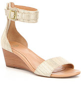 UGG Char Metallic Wedge Sandals