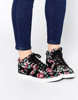 Gola Floral High Top Sneakers