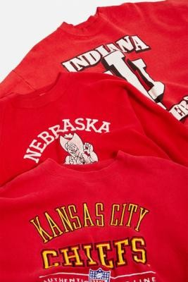 Urban Renewal Vintage Red Pro Sports Sweatshirt - Red S/M at Urban Outfitters