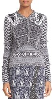 Altuzarra Women's 'Rey' Fringe Trim Jacquard Knit Sweater