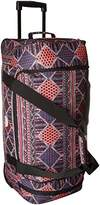 Roxy Women's Distance Across Wheeled Duffle Bag