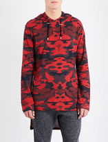 Balmain Camo-print cotton-jersey hoody