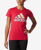 adidas Holographic Printed Logo T-Shirt