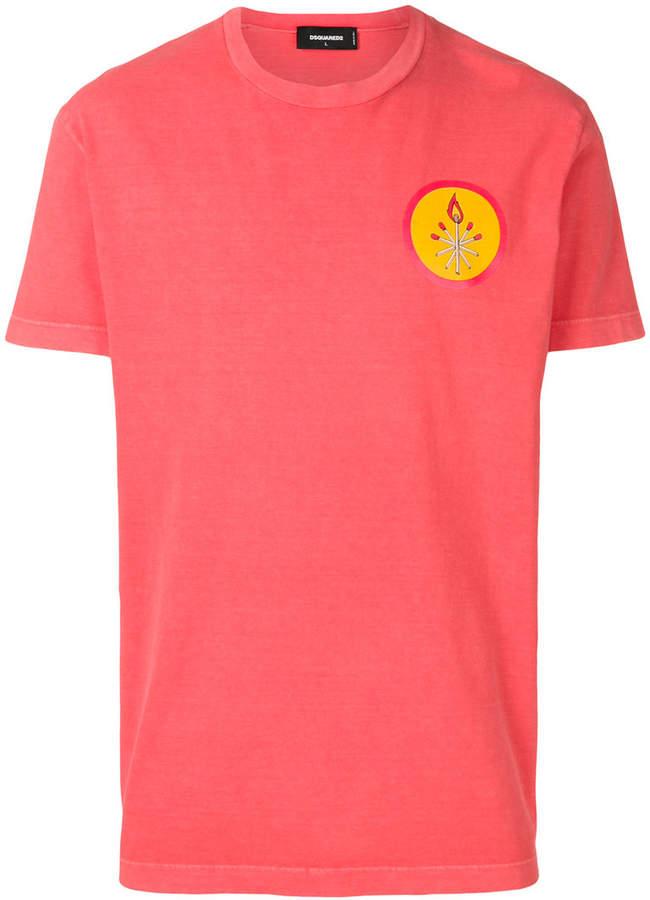 DSQUARED2 patch detail T-shirt