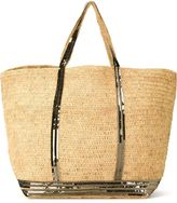 Vanessa Bruno sequin trim shopping tote