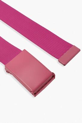 boohoo Slider Tape Buckle Belt