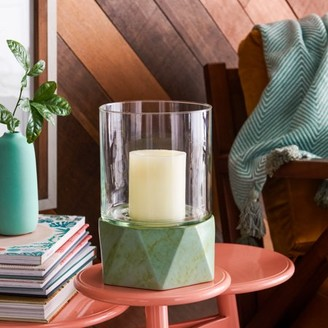 Galway Green Ceramic Glass Votive Candle Holder by Drew Barrymore Flower Home