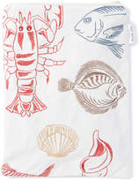 White Under the Sea Wet Bag