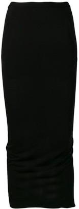 Rick Owens Lilies Basic Midi Skirt
