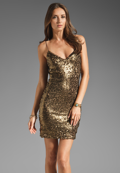 Eight Sixty Sequin Tank Dress