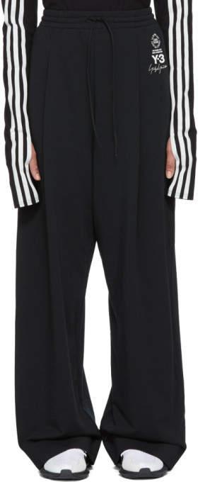 Y-3 Black Wide Lux Lounge Pants
