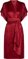 Carine Gilson Silk-satin robe