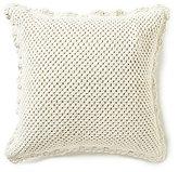 Pine Cone Hill Corossol Crochet Euro Sham