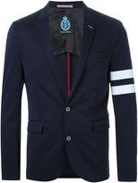 GUILD PRIME stripe detail blazer - men - Cotton - S