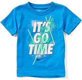 Nike Little Boys 2T-7 It's Go Time Short-Sleeve Graphic Tee