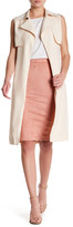 Missguided Sleeveless Trench Coat
