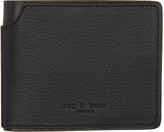 Rag & Bone Black Bifold Wallet