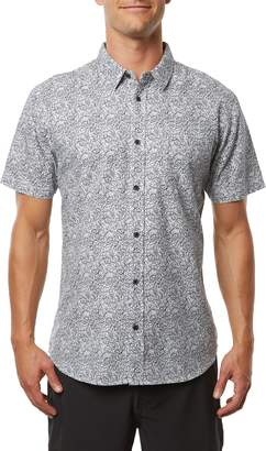 O'Neill Humdinger Modern Fit Floral Short Sleeve Button-Up Shirt