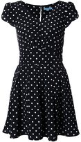 GUILD PRIME polka dot mini dress