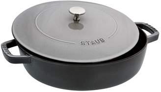 Staub Graphite Grey Cast Iron 2.75 Quart Braiser