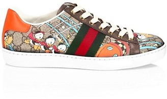 Gucci New Ace Donald Duck Sneakers
