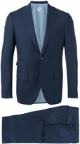 Caruso two piece formal suit - men - Cupro/Viscose/Wool - 46