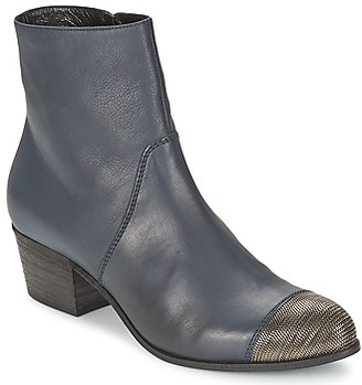 VIC LONDRA women's Low Ankle Boots in Blue