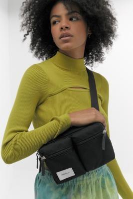 SANDQVIST Paul Black Bum Bag - Black ALL at Urban Outfitters