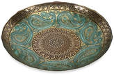 IMAX Paisley Glass Decorative Bowl