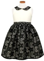 Sorbet Toddler Girl's Peter Pan Collar Party Dress