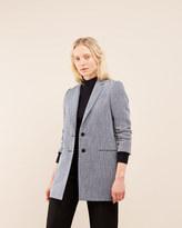 Jigsaw Linen Twill Coat