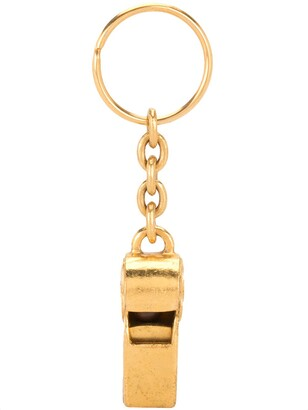 Chanel Pre Owned 1997 Whistle Keyring