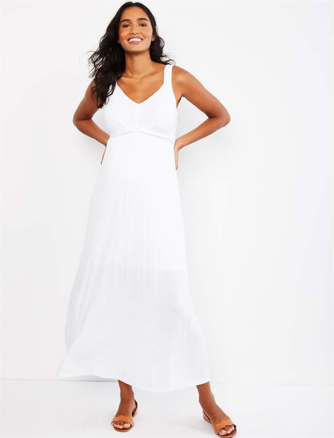 d1051322ac6a3 White Maternity Maxi - ShopStyle