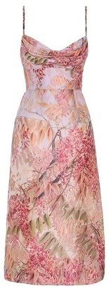 Zimmermann Sleeveless Botanica Cocktail Dress