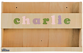 Baby Buddy Tidy Books Personalised Baby Buddy, Natural