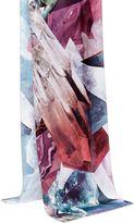 Ted Baker Aminaah Mirrored Minerals Silk Skinny Scarf