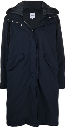 Aspesi Midi-Length Parka Coat