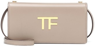 Tom Ford TF leather clutch