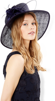 Monsoon Beatrice Feather Flower Mob Hat
