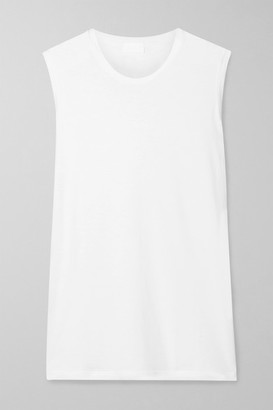 HANDVAERK Pima Cotton-jersey Tank - White