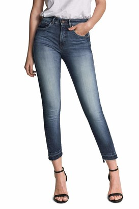 Salsa Secret Glamour Push in Capri Premium wash Jeans Blue