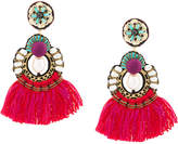 Ranjana Khan fringed earrings