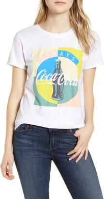 Lucky Brand Coca-Cola(R) Multicolor Cotton Graphic Tee