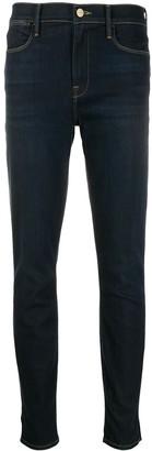 Frame Side Slit Denim Jeans