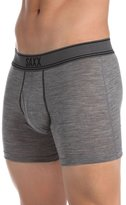 Saxx Mens Blacksheep Fly Performance Boxers Underwear 2X-Large Charcoal/Heather