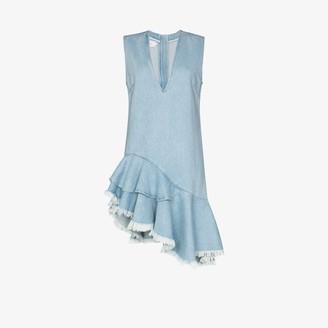 Marques Almeida Asymmetric denim dress