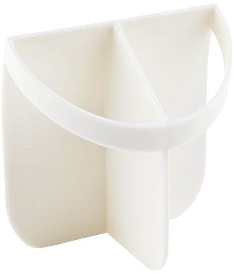 Container Store Shorty Insert White