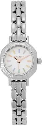 Olivia Burton Rainbow Mini Silver-tone Watch
