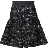 Dolce & Gabbana metallic cloqué skirt